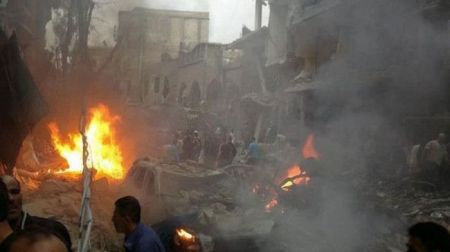 Car bomb explosion rocks Syrian capital
